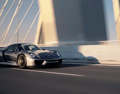 Porsche 918 Spyder Highway Run
