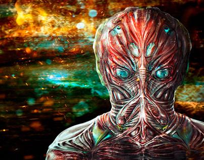 Sektor (08/04/2018). Surreal creature of my mind and fa