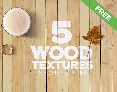 Free Wood Textures x5