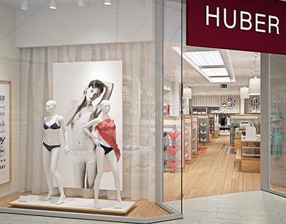 Huber Shop 3D Visualization