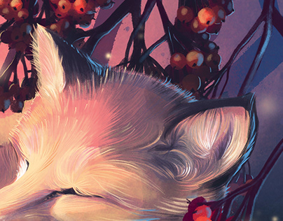 The napping Fox