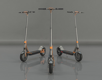 Danieli Electric Scooter - Product visualisation