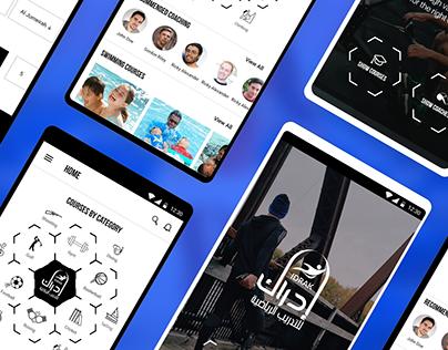 Idraak - Mobile App UI