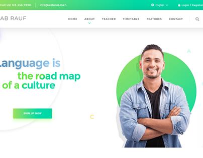 New Landing Page Design