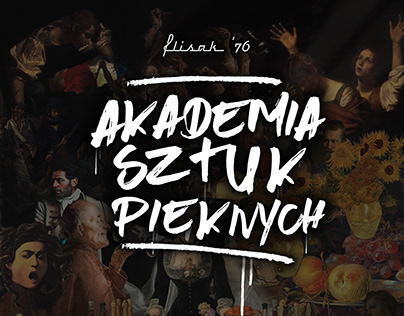 "Flisak'76 - Cocktail Menu "" Akademia Sztuk Pięknych"""