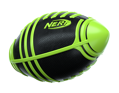 NERF Renders for packaging