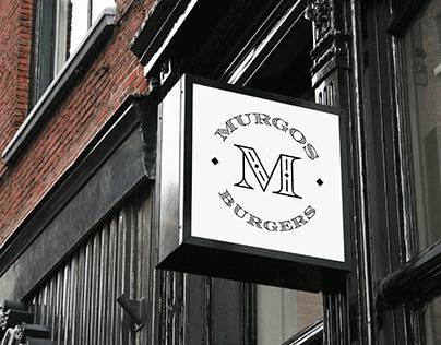 Murgos Burgers Branding