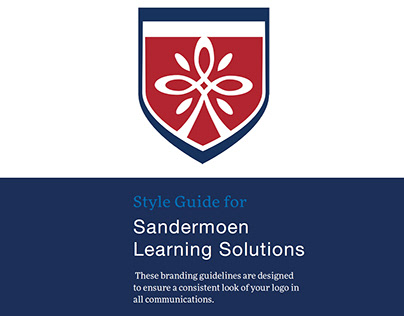 Sandermoen Learnin Solutions Logo and Brand-Book