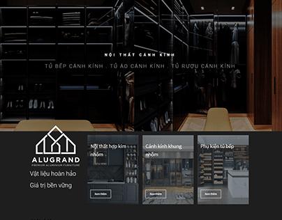 Alugrand Aluminium furniture | Web Design