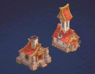 casual buildings