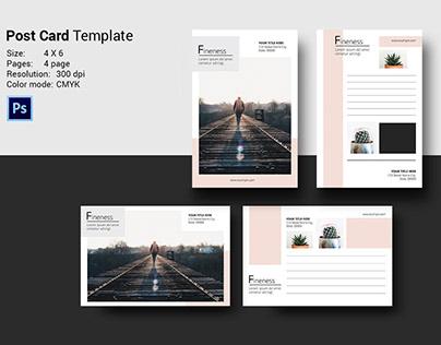 Multipurpose Postcard Template