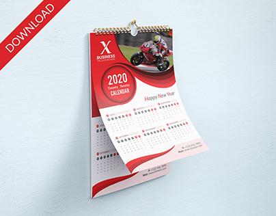 2020 Calendar 2 page