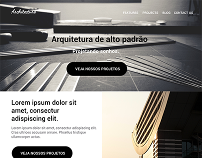 Landing Page - Architecture