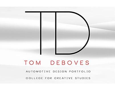 Tom Deboves - Automotive Design Student Portfolio