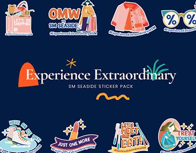 Experience Extraordinary Sticker Pack