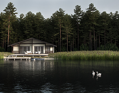 House at the lake