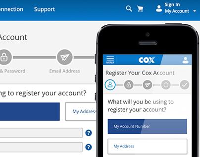 Cox Communications – My Profile (Account Management)