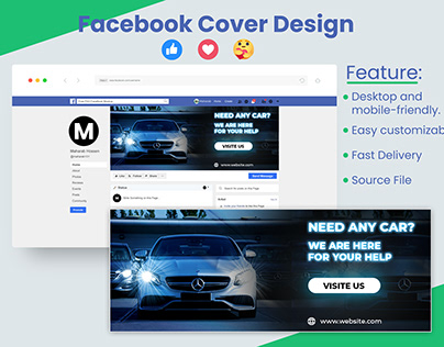 Facebook cover Design || fb banner design ||