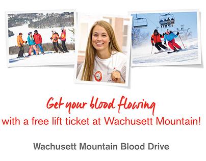 AmericaRed Cross Blood Drive Poster - Wachusett