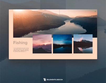 Gone Fishing concept WebApp