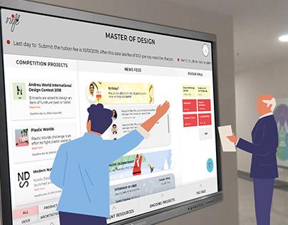 Interactive Screen