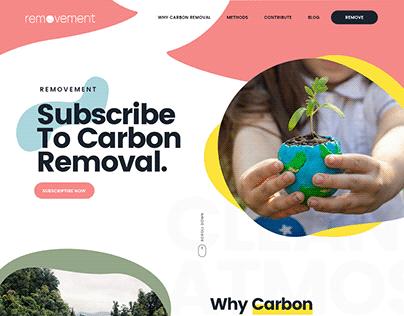 Website for An Environmental Start Up