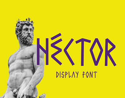 Héctor free font