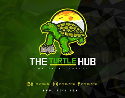The Turtle Hub Mascot Logo