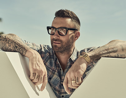 Celebrity Adam Levine Yves St Laurent Beauty