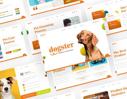 Free Animal Petshop PowerPoint Presentation Template