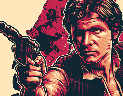 HAN SOLO - STAR WARS FAN ART