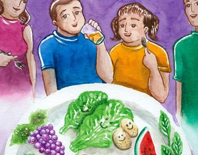 Obesidade Infantil: Solução em Família