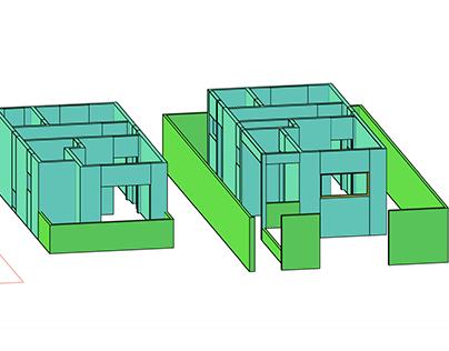 Projeto Educacional- Sobrado 3D