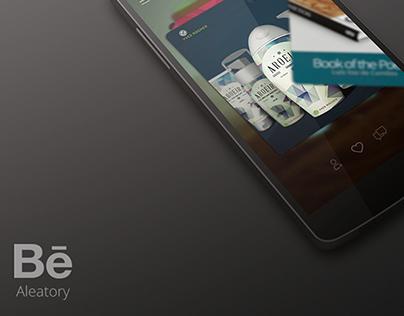 WebApp | Behance Aleatory