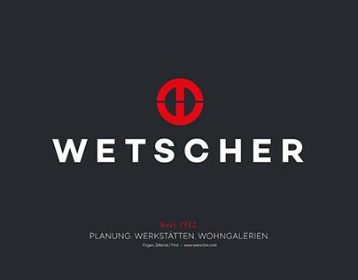 Wetscher. Corporate Design