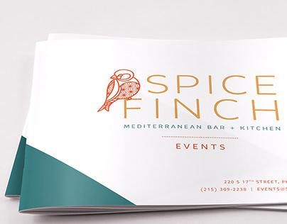 Spice Finch Events   Brochure Design