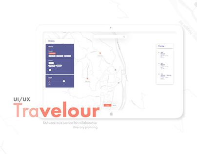 Travelour: UI/UX   Service Design
