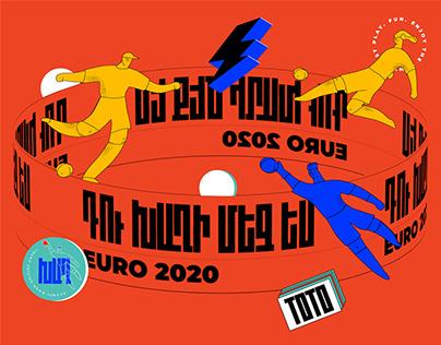 EURO 2020 merch design for TotoGaming