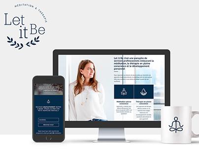 Let it Be | Méditation & Thérapie Site Web