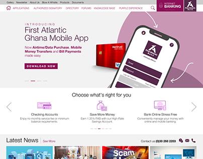 1st Atlantic Intranet Website