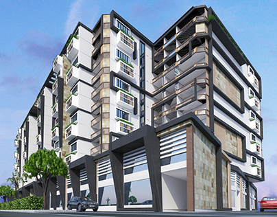 Residential - Commercial Project Mansoura University