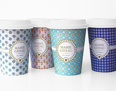 Mamie Gâteau - Tea Packaging