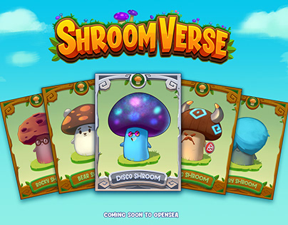 Shroomverse NFTs-Pack 1