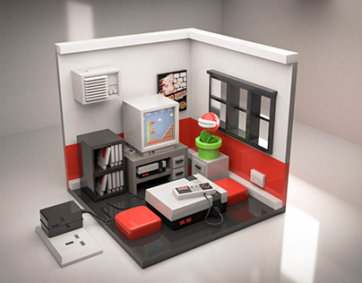 NES Private Room 3D