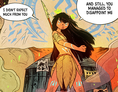 Harpoon Comic Book