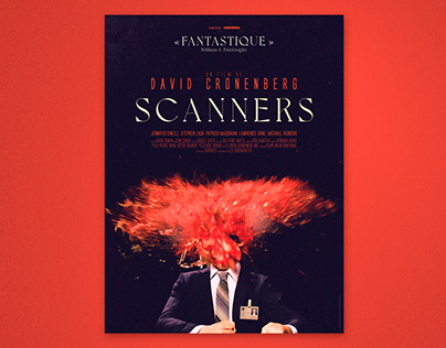 SCANNERS - official re-release poster