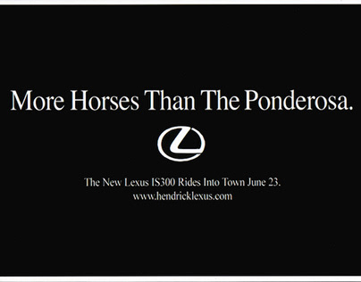 Copywriting - Lexus