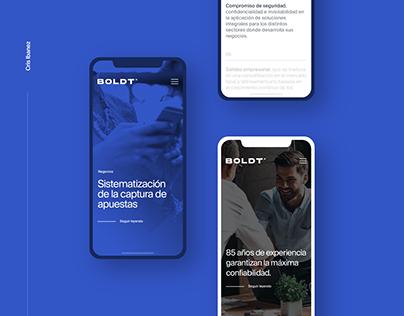 BOLDT — Rebranding & Web Design