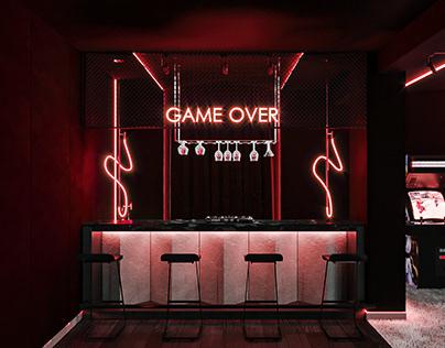 Cyberpunk|Cinema Room Design|
