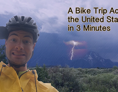 A Bike Ride Across the United States in 3 Minutes